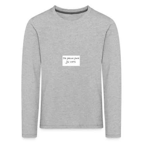 jaivomi - T-shirt manches longues Premium Enfant