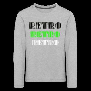Retro Collections - Premium langermet T-skjorte for barn