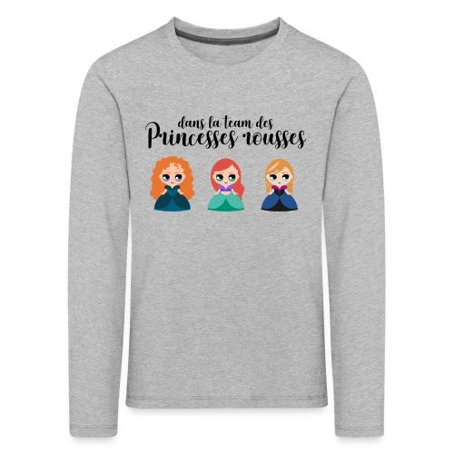 Team princesses rousses - T-shirt manches longues Premium Enfant