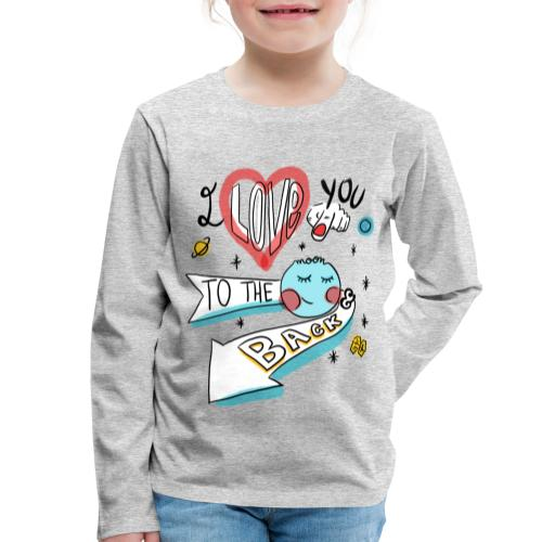 I love you to the moon 2 - T-shirt manches longues Premium Enfant
