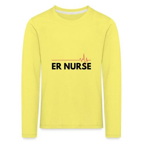 Er nurse - Maglietta Premium a manica lunga per bambini