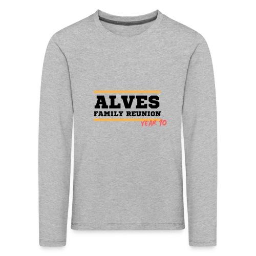 Alves - Maglietta Premium a manica lunga per bambini