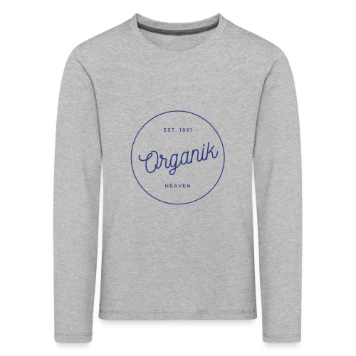 Organic - Maglietta Premium a manica lunga per bambini