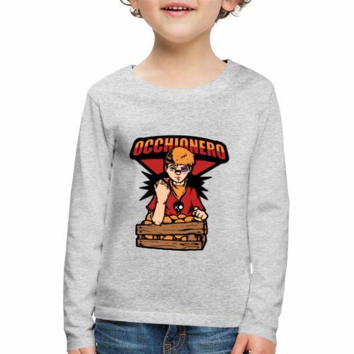Occhionero - Maglietta Premium a manica lunga per bambini