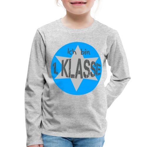* SCHULKIND * Einschulung Schulanfang - Kinder Premium Langarmshirt