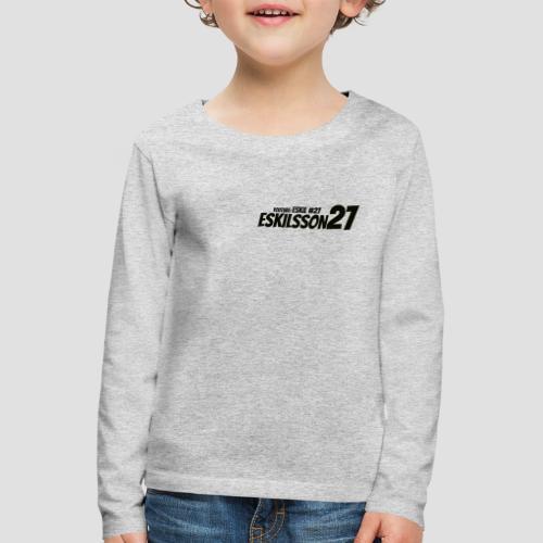 Eskilsson 27 sticker motive Black - Långärmad premium-T-shirt barn