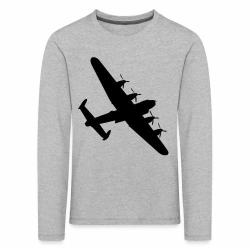Bomber Plane - Maglietta Premium a manica lunga per bambini