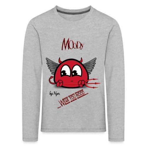 MOODY DEVIL - Maglietta Premium a manica lunga per bambini