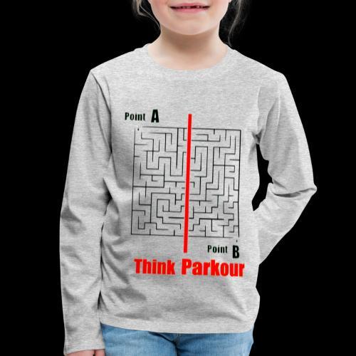 maze - Kids' Premium Longsleeve Shirt