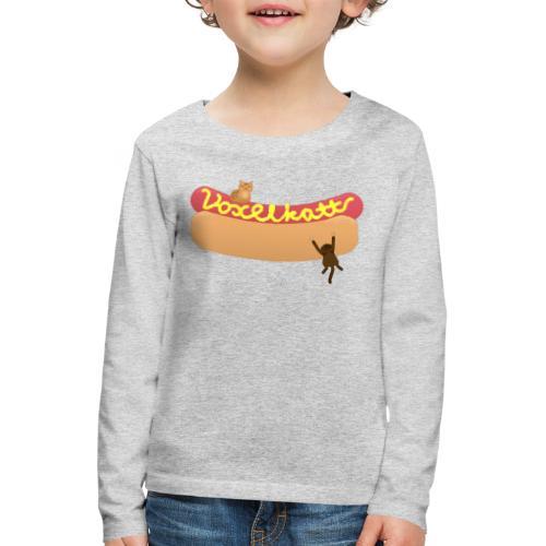 Voxelkorv - Långärmad premium-T-shirt barn