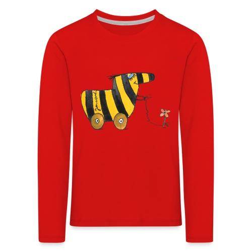 Janoschs Tigerente mit Blume - Kinder Premium Langarmshirt