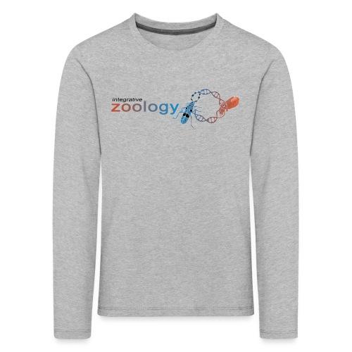 Integrative Zoology Department Logo (bright) - Kids' Premium Longsleeve Shirt