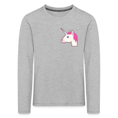 unicorn print shirts - Børne premium T-shirt med lange ærmer
