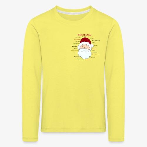 pere noel Merry x mas - Kids' Premium Longsleeve Shirt