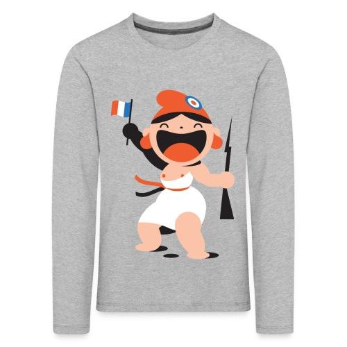 MARIANNE - T-shirt manches longues Premium Enfant