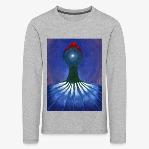 Drzewo Samotne - Koszulka dziecięca Premium z długim rękawem