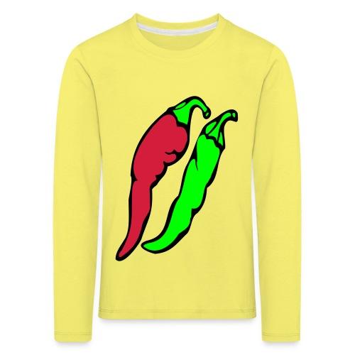 Chilli - Koszulka dziecięca Premium z długim rękawem
