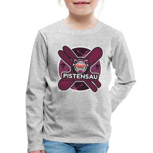 PistenSau Lachshimmel - Kinder Premium Langarmshirt
