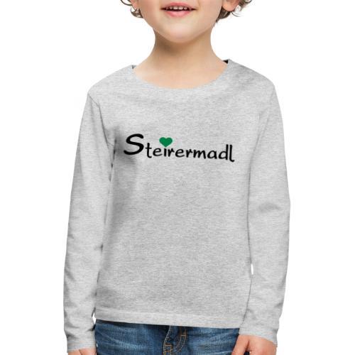 Steirermadl - Kinder Premium Langarmshirt