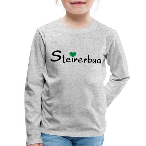 Steirerbua - Kinder Premium Langarmshirt
