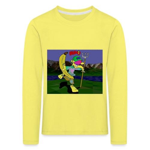 Bruno II - Premium langermet T-skjorte for barn