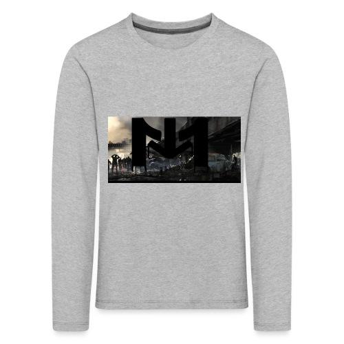 Mousta Zombie - T-shirt manches longues Premium Enfant