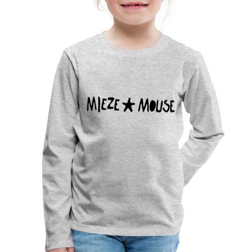 MIEZEMOUSE STAR - Kinder Premium Langarmshirt