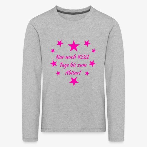 Schulanfang Pink - Kinder Premium Langarmshirt