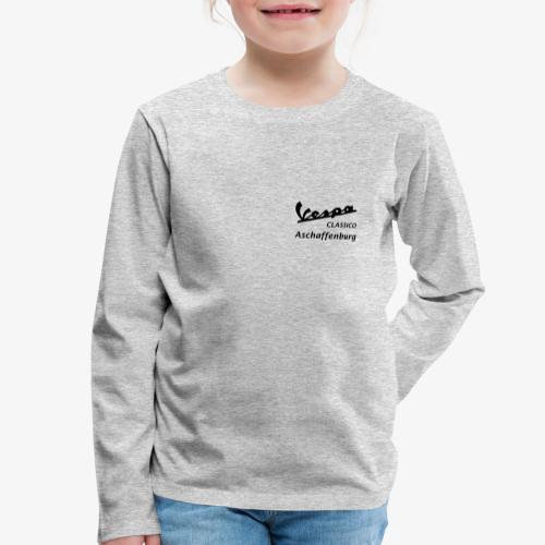 Textlogo - Kinder Premium Langarmshirt
