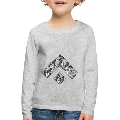 Logo Design - Camiseta de manga larga premium niño
