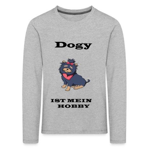 Hund - Kinder Premium Langarmshirt