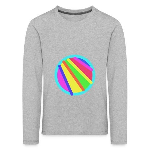 Abstrakte Malerei - Kinder Premium Langarmshirt