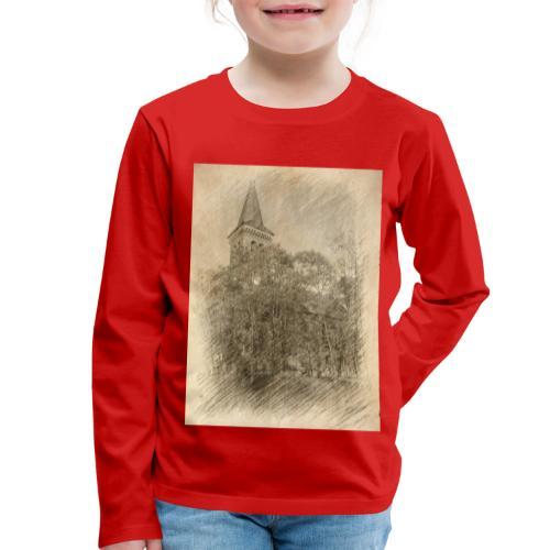 Baalberger Kirche - Kinder Premium Langarmshirt