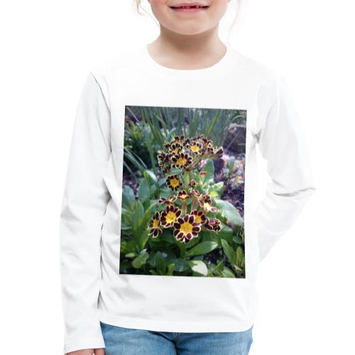 Primel - Kinder Premium Langarmshirt