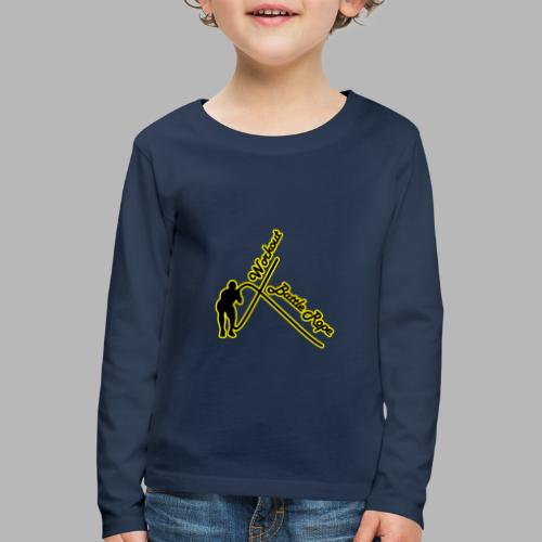Battle Rope Workout - Kinder Premium Langarmshirt