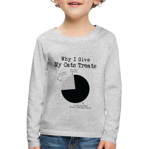 WHY I GIVE - T-shirt manches longues Premium Enfant