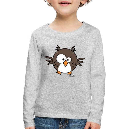 Hibou - T-shirt manches longues Premium Enfant