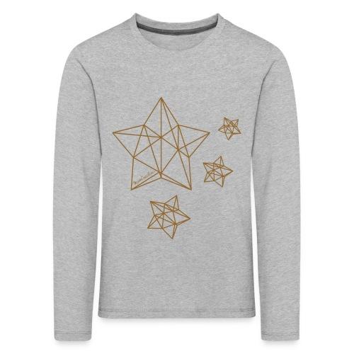 Sternenhimmel Diamant - Kinder Premium Langarmshirt