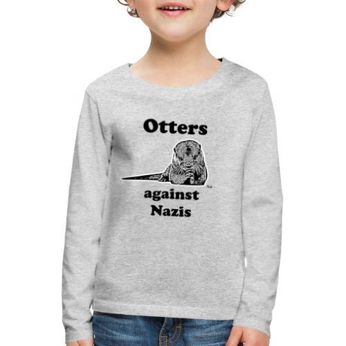 ottersagainstnazis - Kinder Premium Langarmshirt