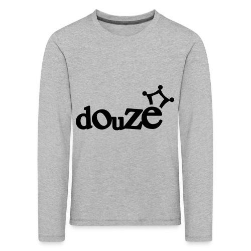 logo_douze - T-shirt manches longues Premium Enfant
