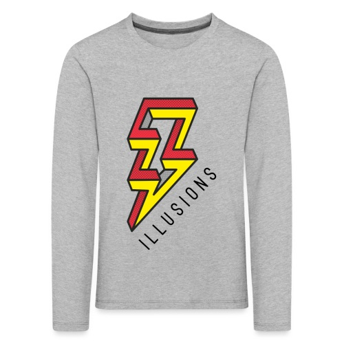 ♂ Lightning - Kinder Premium Langarmshirt