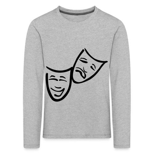 Theatermasken - Kinder Premium Langarmshirt