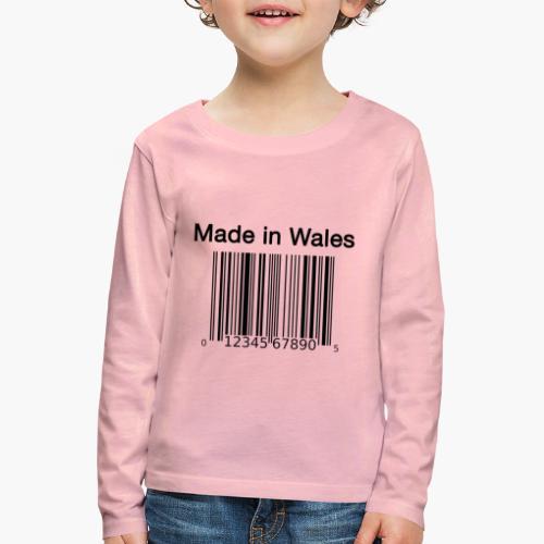 Made in Wales - Kids' Premium Longsleeve Shirt