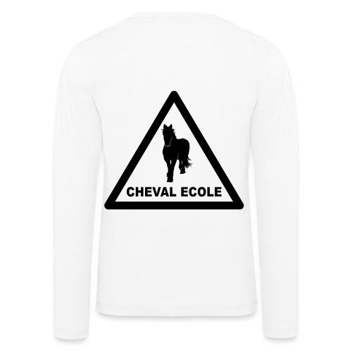 chevalecoletshirt - T-shirt manches longues Premium Enfant