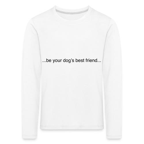 GoodBad svart CMYK (1) - Kids' Premium Longsleeve Shirt