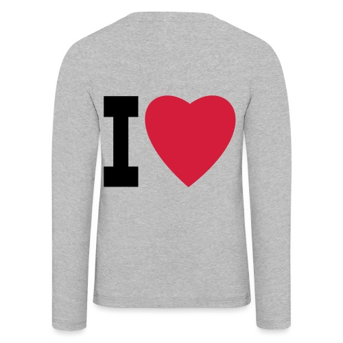 create your own I LOVE clothing and stuff - Kids' Premium Longsleeve Shirt