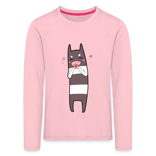 Donut Monster - Kids' Premium Longsleeve Shirt