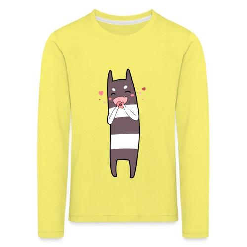 Donut Monster - Kids' Premium Longsleeve Shirt