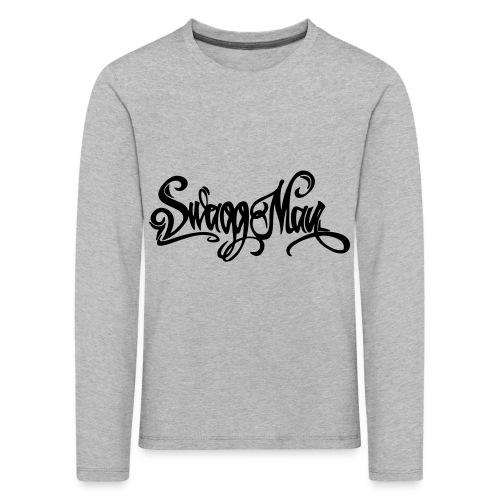 Swagg Man logo - T-shirt manches longues Premium Enfant