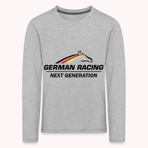 German Racing Next Generation Logo - Kinder Premium Langarmshirt